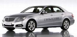 La Mercedes E 300 BlueTEC HYBRID lancée fin 2011