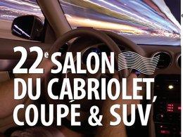 22e Salon du Cabriolet, Coupé & SUV : cochez les 26 et 27 mars sur votre agenda
