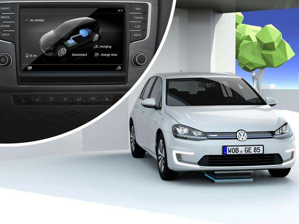 Volkswagen e-Golf Connected Concept : l'Allemand connecte sa berline compacte électrique