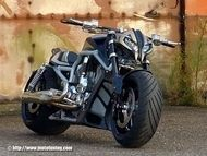 Tuning : HD V-rod by Tecno Bike