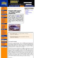 406 Coupé : une ligne unique signée Peugeot et Pininfarina