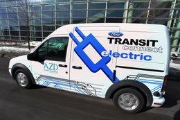 Deux Transit Connect électriques déjà commandés par la société AT&T