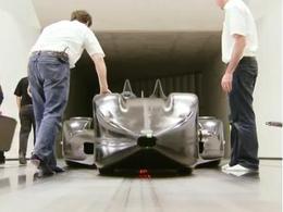 Le Mans: Nissan tease avec la Deltawing en soufflerie !