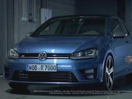 Sébastien Ogier assure la pub de la VW Golf R