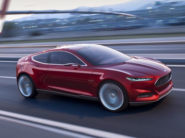 La future Ford Mustang inspirée du concept Evos ?