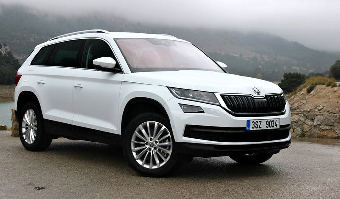 skoda kodiaq prix prix skoda kodiaq les tarifs du suv 7 places de skoda d voil s l 39 argus. Black Bedroom Furniture Sets. Home Design Ideas