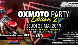 MXGP France : Tim Gajser présent à la Oxmoto Party 2