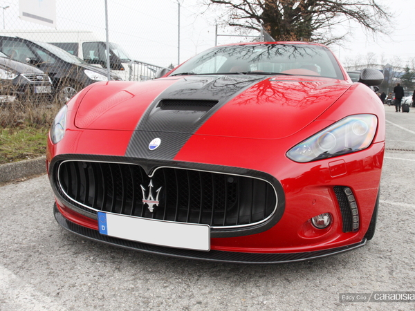Photos du jour : Maserati GranTurismo S Mansory