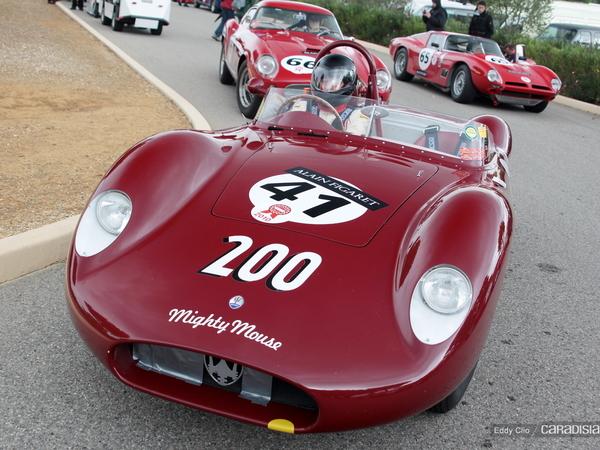 Photos du jour : Maserati 200 S 1957 (10000 tours du Castellet)