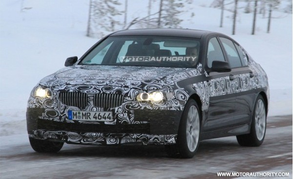 Spyshot : la future BMW M5 toujours en tests