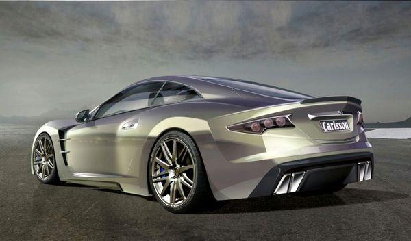 Carlsson C25 : une étonnante supercar sur base de Mercedes SL600 pour Genève