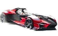 Concept: Si Ducati se mettait un jour à faire une caisse ça pourrait donner ça
