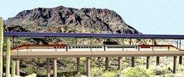 350km/h pour un train fonctionnant à l'énergie solaire : bientôt en Arizona ?