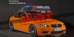 BMW M3 GTS : ne cherchez plus, c'est tout vendu