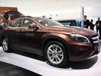 Vidéo en direct du salon de Francfort 2013 - Mercedes GLA, nouvelle déclinaison de la Classe A