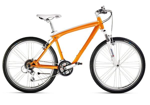 un nouveau v lo commercialis par bmw le cruise bike orange. Black Bedroom Furniture Sets. Home Design Ideas