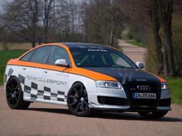Audi RS6 V10 MTM Clubsport, 730 chevaux, arceau, baquets, et une drôle de peinture !