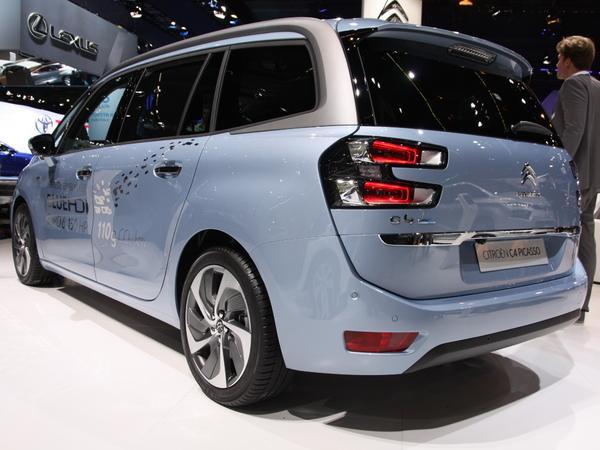 En direct du salon de Francfort 2013 - Le Citroën Grand C4 Picasso en vidéo
