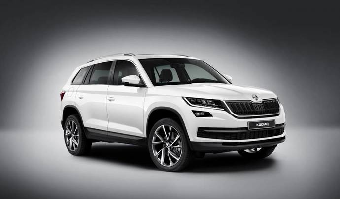 skoda le kodiaq programm en hybride rechargeable et en lectrique. Black Bedroom Furniture Sets. Home Design Ideas