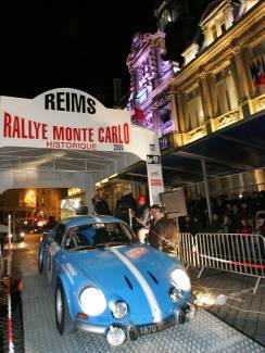 rallye monte carlo historique si vous tes reims ce vendredi. Black Bedroom Furniture Sets. Home Design Ideas
