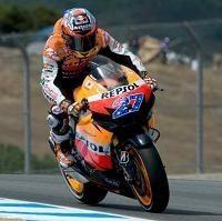 Moto GP - Laguna Seca D.1: Casey Stoner inscrit la première référence