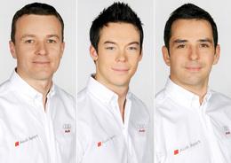 Des nouveaux pilotes chez Audi Motorsport, dont le Français Benoît Tréluyer!
