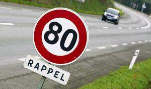 80km/h sur route: l'annonce pour le 9janvier!