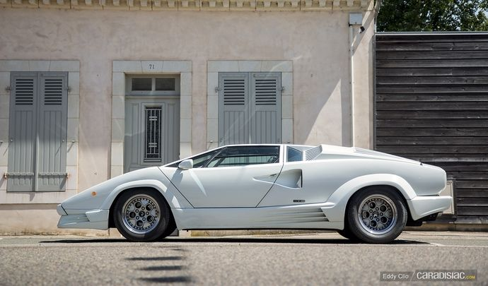 Photos du jour : Lamborghini Countach 25eme