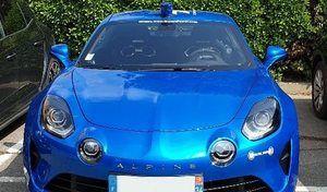 La gendarmerie a essayé l'Alpine A110
