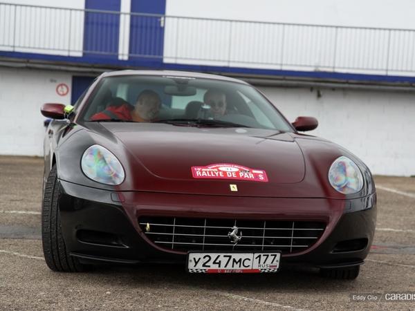 Photos du jour : Ferrari 612 Scaglietti (Rallye de Paris)
