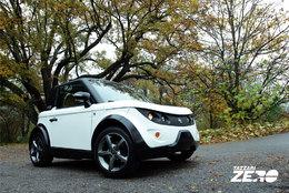 La TAZZARI ZERO électrique présentée au Salon du Cabriolet et au Mondial de Paris 2010
