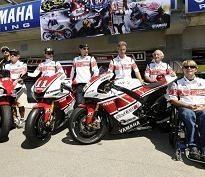 Moto GP - Laguna Seca: Pour ses cinquante ans Yamaha remonte le temps