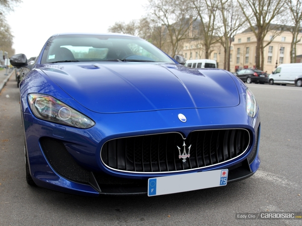 Photos du jour : Maserati GranTurismo Mc Stradale (Rallye P-Zéro by night)