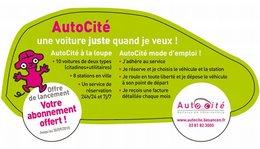 La Ville de Besançon a lancé son service d'auto-partage : AutoCité