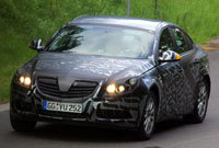 Future Opel Vectra/Insigna en test intensif