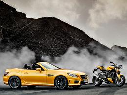 Ducati et AMG... eh bien oui c'est fini...