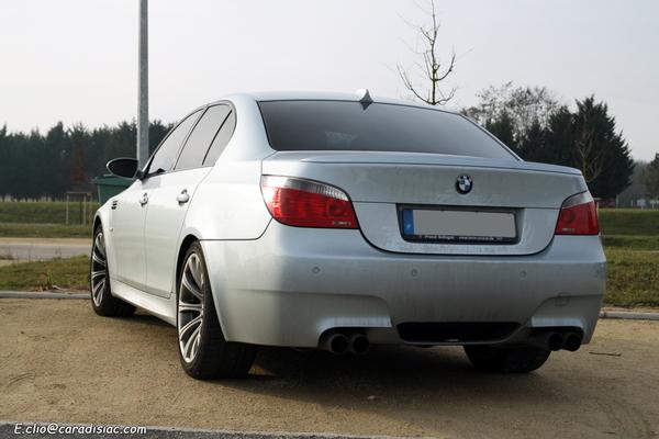 Photos du jour : BMW M5 E60