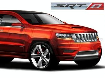 Jeep Grand Cherokee SRT8 : concurrencer le BMW X5 M avec 525 chevaux