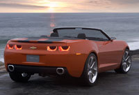 Chevrolet Camaro Convertible: nouvelles photos