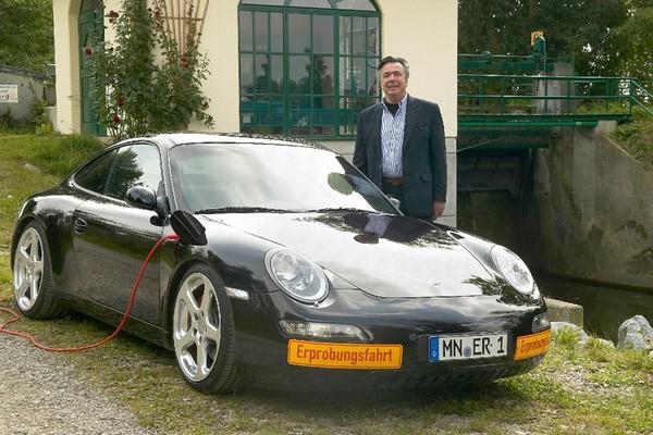 eRUF Concept Model A : plus de détails sur la 911 électrique d'Alois Ruf