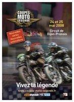 Calendrier : les coupes Moto Légendes 2008