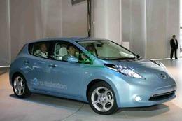 La Nissan LEAF électrique assemblée dès 2013 au Royaume-Uni