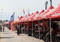Husqvarna loue des motos pour les Six Days