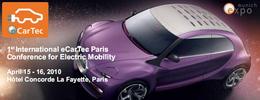 La Conférence eCarTec Paris 2010 dédiée aux véhicules électriques