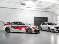 Toutes les nouveautés du salon de Francfort 2013 - Mercedes CLA 45 AMG Racing Series et CLA 250 Sports