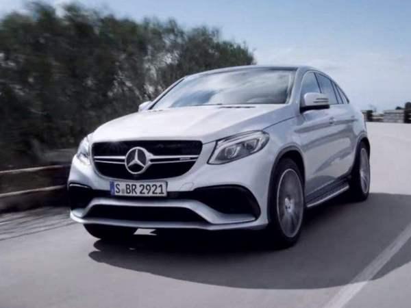 [vidéo] Mercedes tease le GLE 63 AMG Coupé