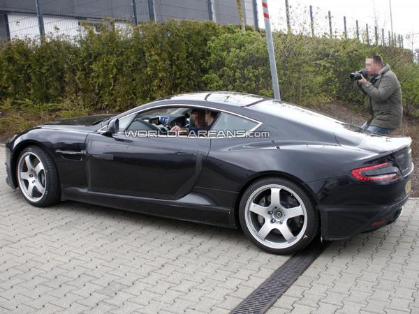 La descendance de l'Aston Martin DB9 pointe le bout de son nez