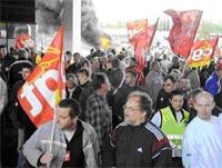 Renault-Sandouville : les protestations continuent