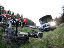 Ils se crachent à 300 km/h en BMW M5 sur l'autobahn