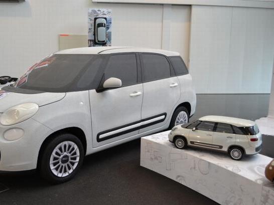 Fiat 500L: prochainement en 7 places?